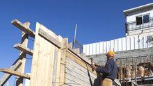 Bauarbeiten in der Siedlung Ramat Shlomo in Ost-Jerusalem
