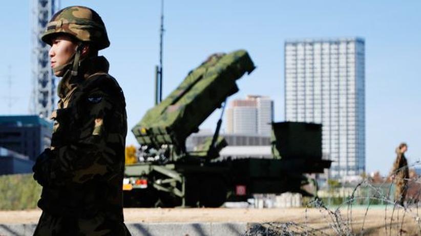 Raketentest: Japan will nordkoreanische Rakete im Notfall abschießen