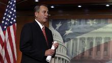Der Republikaner John Boehner, Mehrheitsführer im US-Repräsentantenhaus