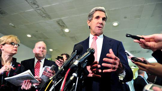 John Kerry (Bild vom Mittwoch)