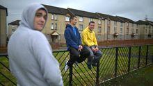 Jugendliche im schottischen Glasgow (Archiv)