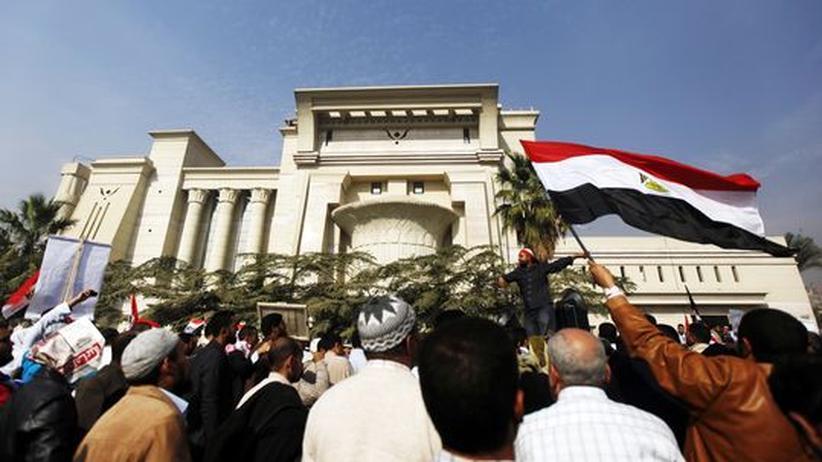 Machtkampf: Richter in Ägypten wollen Verfassungsreferendum boykottieren