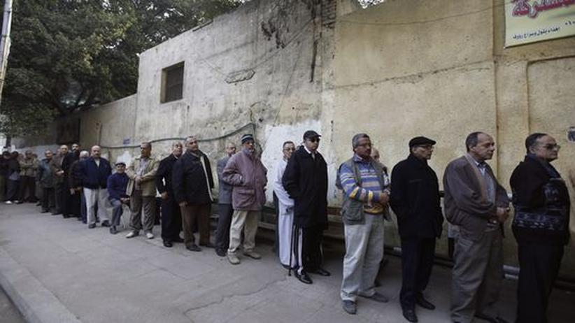 Verfassungsreferendum: Ägypter drängen zu den Wahllokalen