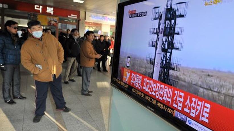 Aufrüstung: USA und Japan verurteilen Nordkoreas Raketentest