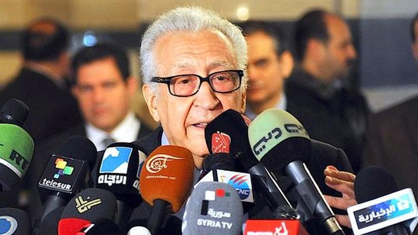 Bürgerkrieg: Brahimi fordert Übergangsregierung für Syrien