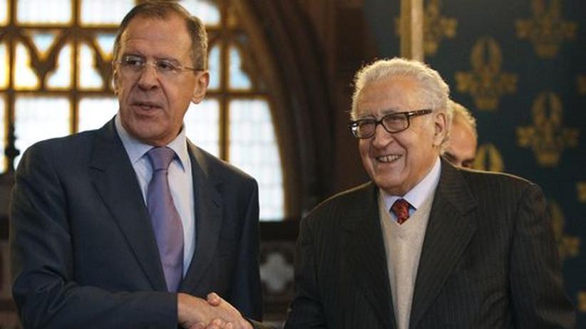 Bürgerkrieg: Russland sieht Chance für Frieden in Syrien