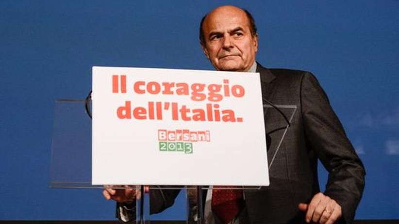 Italien: Bersani führt Mitte-Links-Bündnis in Italiens Parlamentswahl