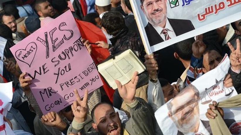 """Demonstration in Kairo: """"Wir sind alle für die Scharia"""""""