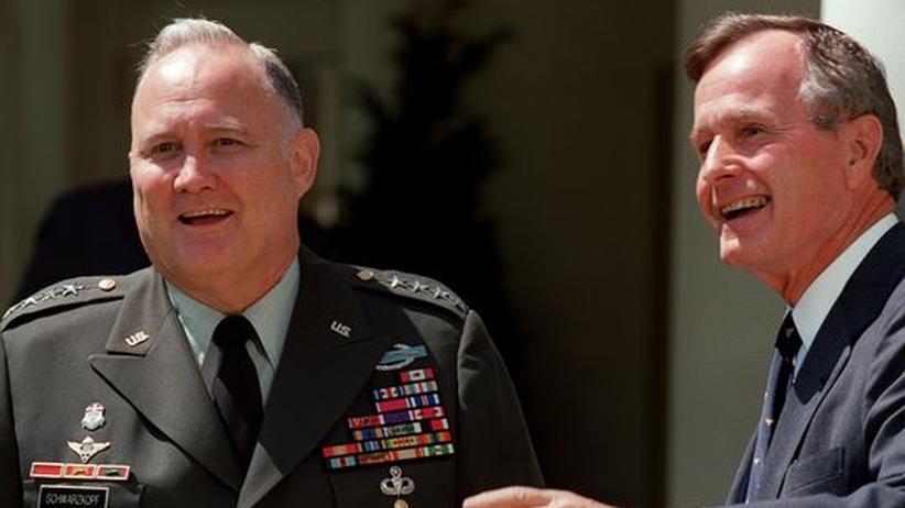 Golfkrieg: Ehemaliger US-General Norman Schwarzkopf ist tot