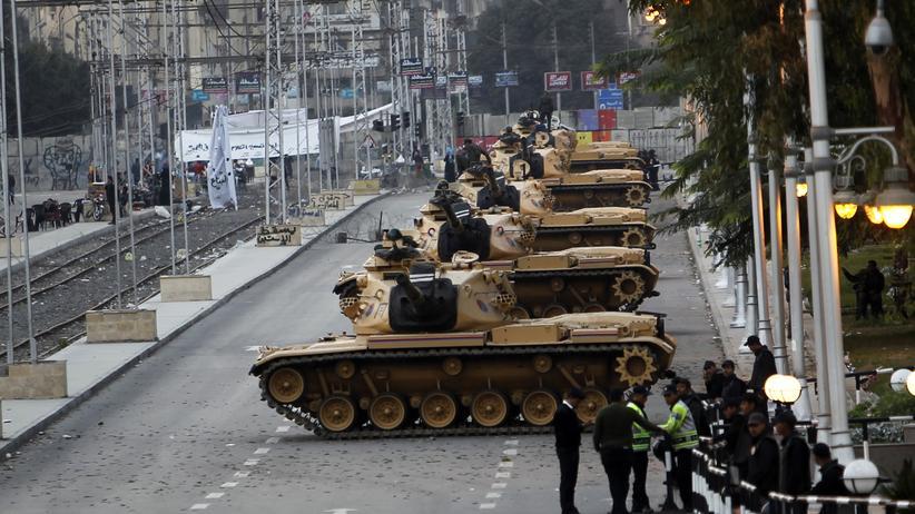 """Ägypten: """"Eine faschistische Verfassung"""""""