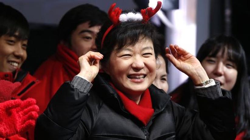 Südkorea: Frau Park gegen Herrn Moon