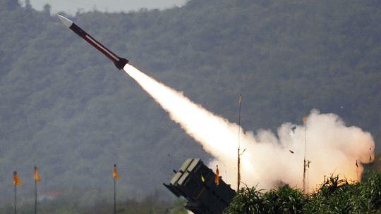 Eine amerikanische Patriot-Rakete