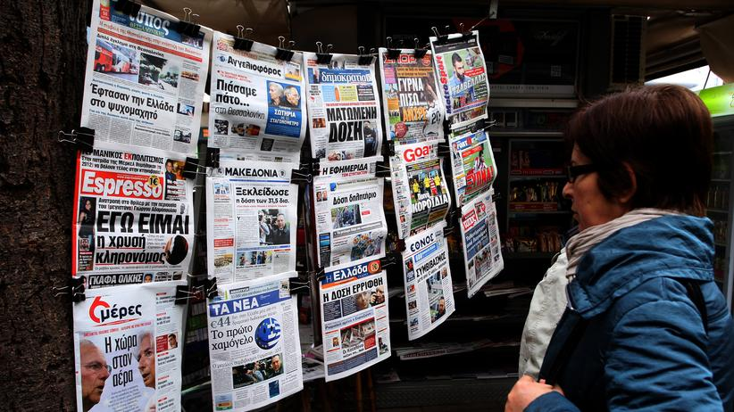 """Kostas Vaxevanis: """"Die griechische Presse ist geknebelt"""""""