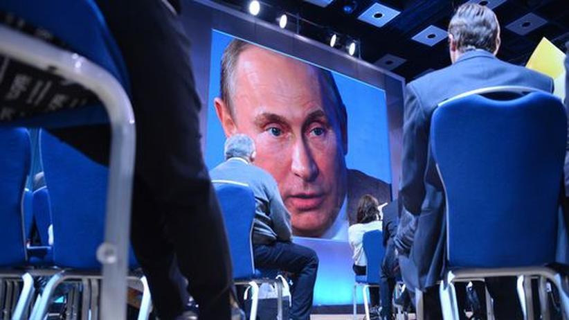 Pressekonferenz: Putin strapaziert Weltpresse mit Endlos-Audienz
