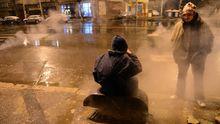 Obdachlose in Bukarest