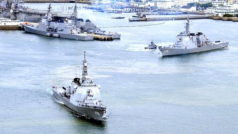 Nordkorea: Japan bringt Kriegsschiffe gegen Nordkoreas Rakete in Stellung
