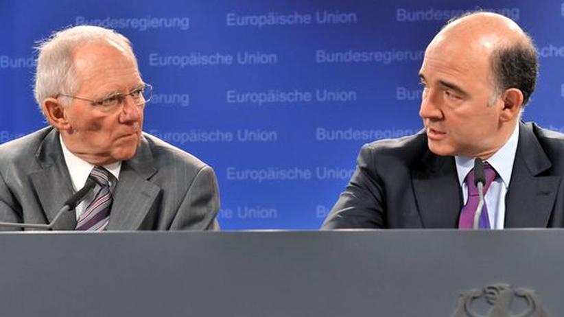 Euro-Gruppenvorsitz: Moscovici macht Schäuble den Euro-Chefposten streitig