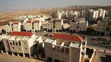 Häuser in der Siedlung Ma'ale Adumim im Westjordanland, sieben Kilometer östlich von Jerusalem