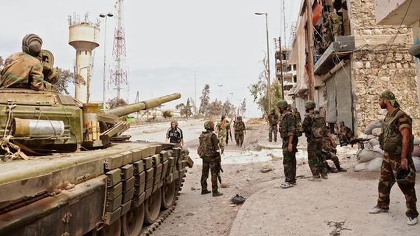 Bürgerkrieg: USA haben Hinweise auf möglichen Chemiewaffen-Einsatz in Syrien