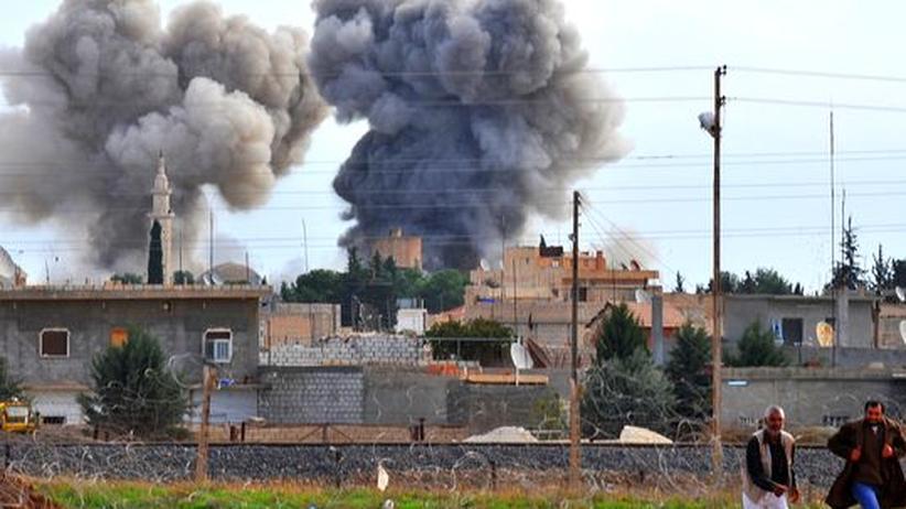 Bürgerkrieg: Syrische Armee soll Napalm- und Phosphorbomben eingesetzt haben