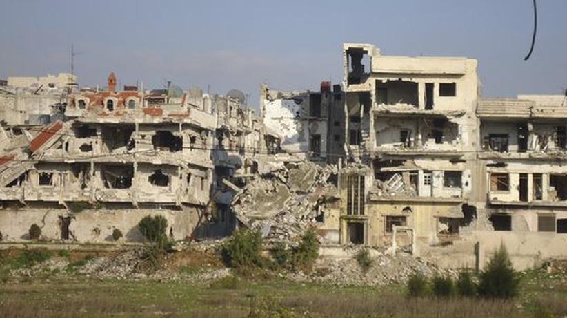 Bürgerkrieg: Syrische Armee bombardiert palästinensisches Flüchtlingslager