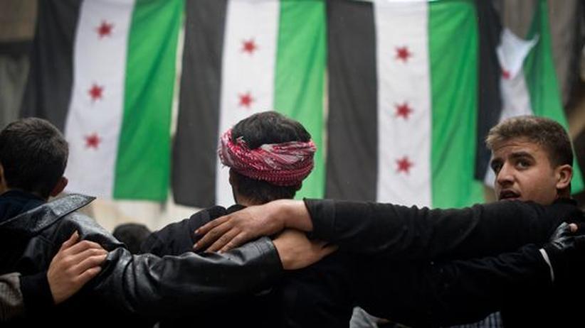 Bürgerkrieg: USA erkennen Opposition in Syrien an