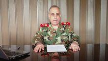 Abdelasis al-Schalal bei seiner Videobotschaft, die der Sender Al-Arabija ausstrahlte.