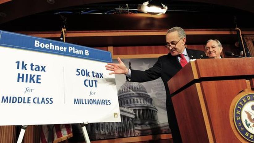 US-Staatsfinanzen: Obama nimmt Haushaltsstreit persönlich