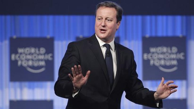 Weltwirtschaftsforum: David Cameron, der Nationalgesinnte