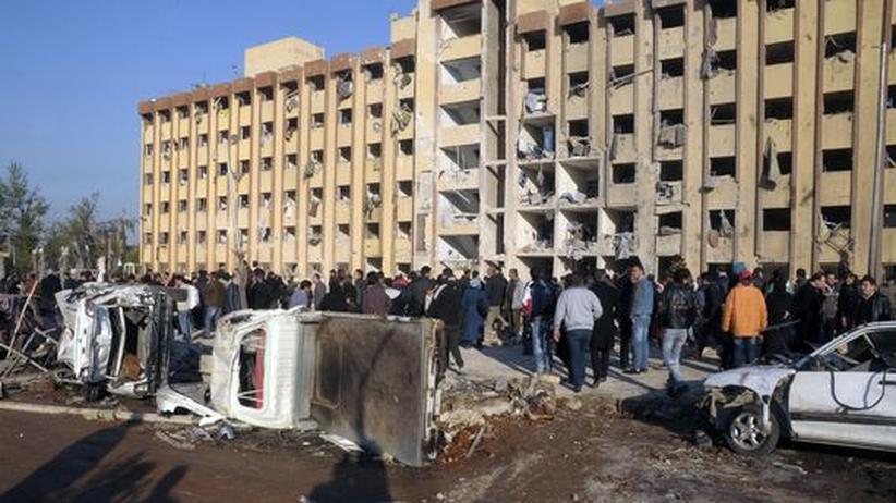 Syrien: Viele Tote bei Explosion an Universität von Aleppo
