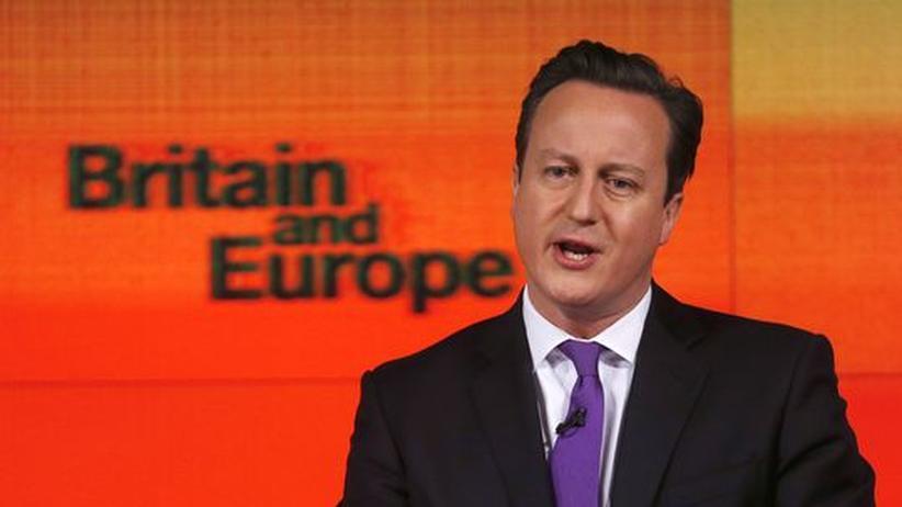 EU-Grundsatzrede: Cameron will Verhältnis zur EU neu verhandeln