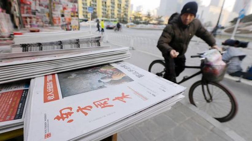 Zensur: Chinesische Journalisten beenden Proteste