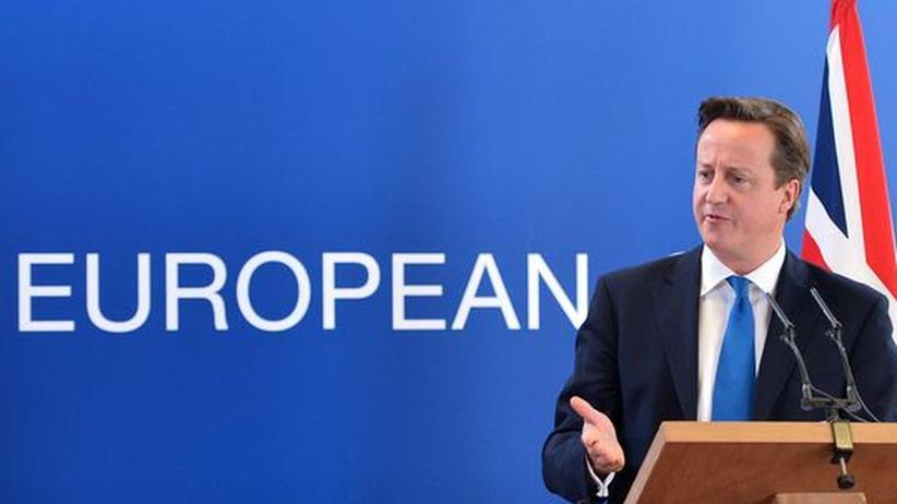 Großbritannien: Camerons absurde Europapolitik