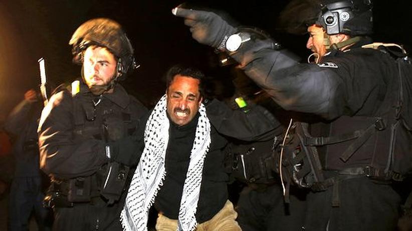 Westjordanland: Israel räumt Protestcamp der Palästinenser