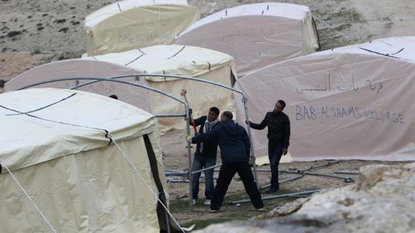 Westjordanland: Palästinenser besetzen Bauplatz für israelische Siedlung