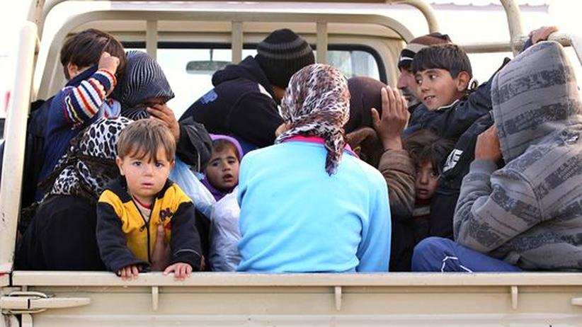 Bürgerkrieg: Syrische Frauen fliehen vor sexueller Gewalt
