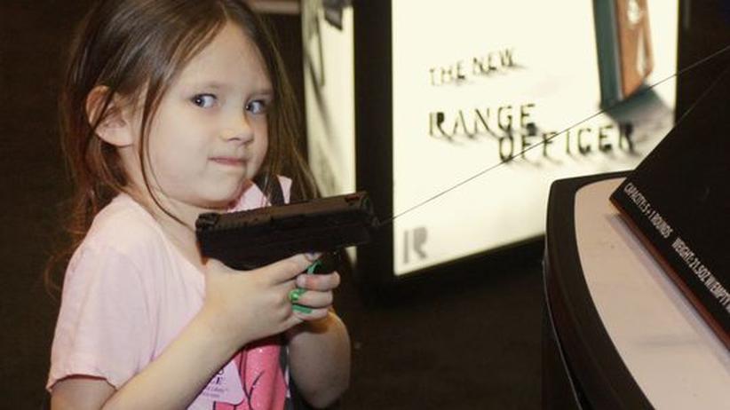 US-Waffenindustrie: Gewehre für Kinder
