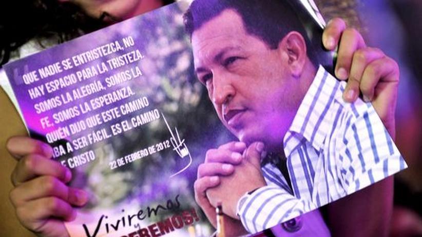 Venezuela: Chávez leidet unter schwerer Atemnot