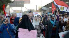 Frauen auf dem Tahrir-Platz in Kairo