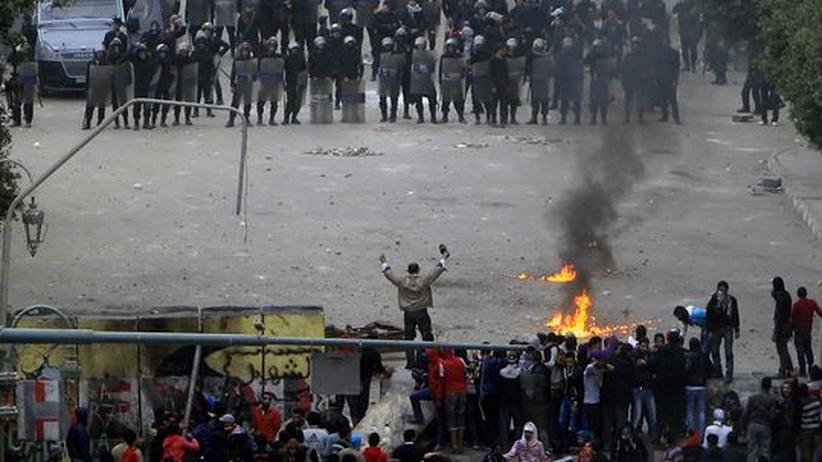 Ägypten: Ausschreitungen am Jahrestag der Revolution