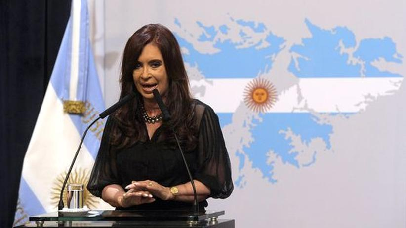 """Inselstreit: Präsidentin Kirchner schaltet Falkland-Anzeige im """"Guardian"""""""