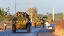 Französische Truppen rücken nach Norden vor