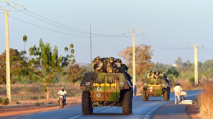 Militäreinsatz: Französische Bodentruppen rücken nach Nord-Mali vor