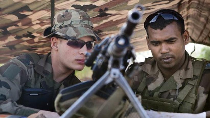 Militäreinsatz in Mali: Malische und französische Truppen rücken weiter vor