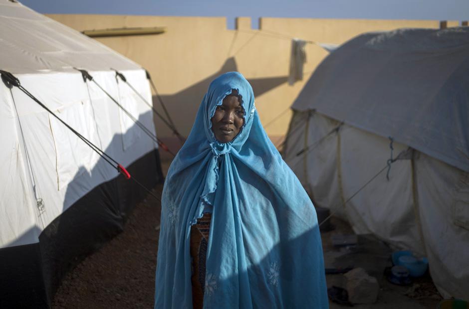 Camp in Sevaré: Tausende sind vor den Kämpfen im Norden Malis geflohen.