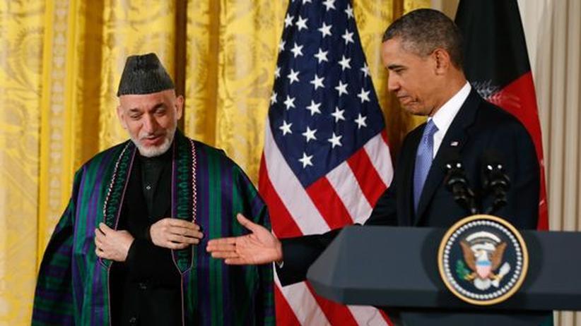 Afghanistan: USA ziehen sich auf Unterstützerrolle zurück