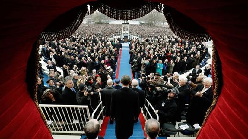 Amtseinführung: Obama verspricht ein gerechtes Amerika