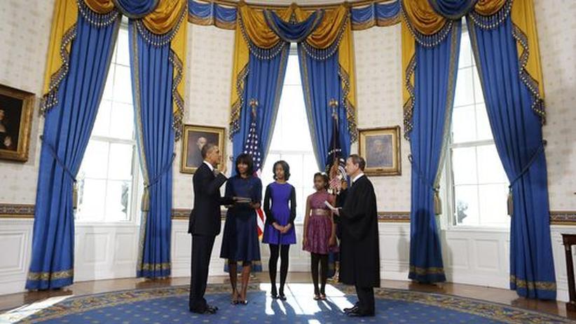 US-Präsident: Obamas zweite Amtszeit beginnt mit großer Feier
