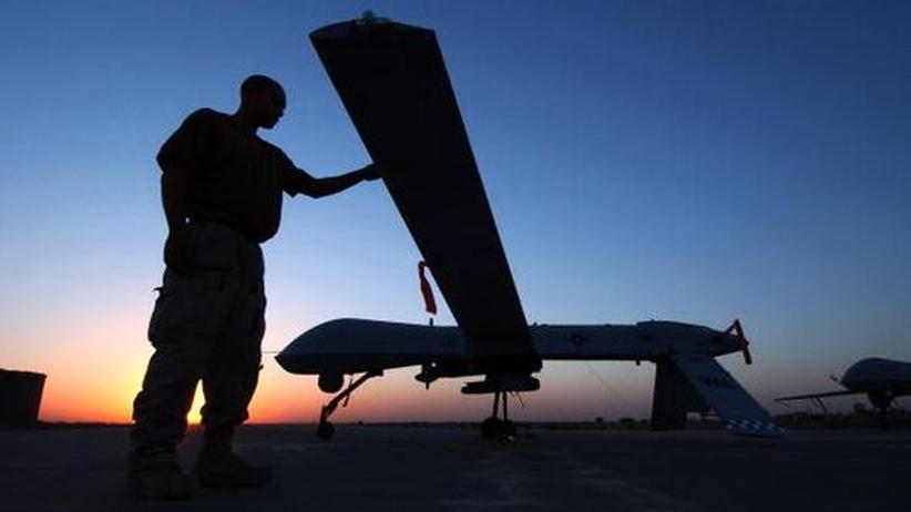 Predator-Drone in Iraq