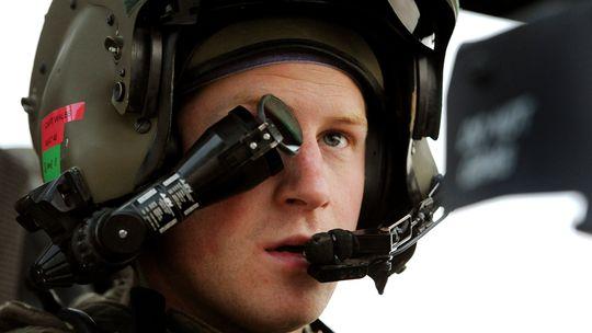 Prinz Harry bei seinem Einsatz in Afghanistan im Dezember 2012